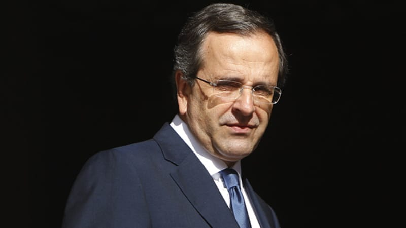Samaras told French and German leaders he wanted more time to make cuts in his country's budget [Reuters]