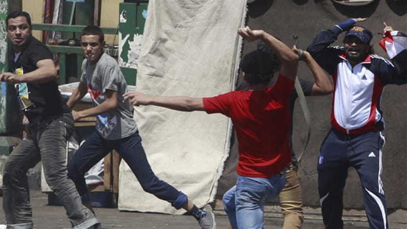 The organisers of Friday's protests are also seeking a probe into the funding behind the Muslim Brotherhood [Reuters]