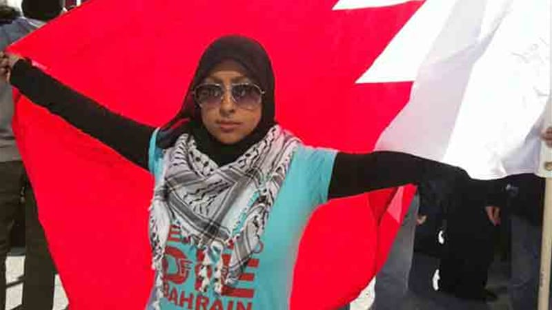 Khawaja had arrived in Bahrain from Denmark when she was arrested [Twitter/Maryam al-Khawaja]