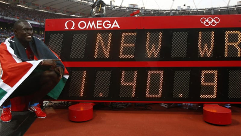 Rudisha smashed the 800m Olympic record at the London Games last year [Reuters]