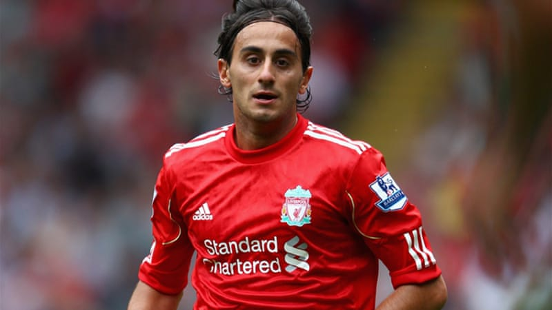 Aquilani had two loan spells away from Liverpool, first at Juventus and then last season at AC Milan [GALLO/GETTY]