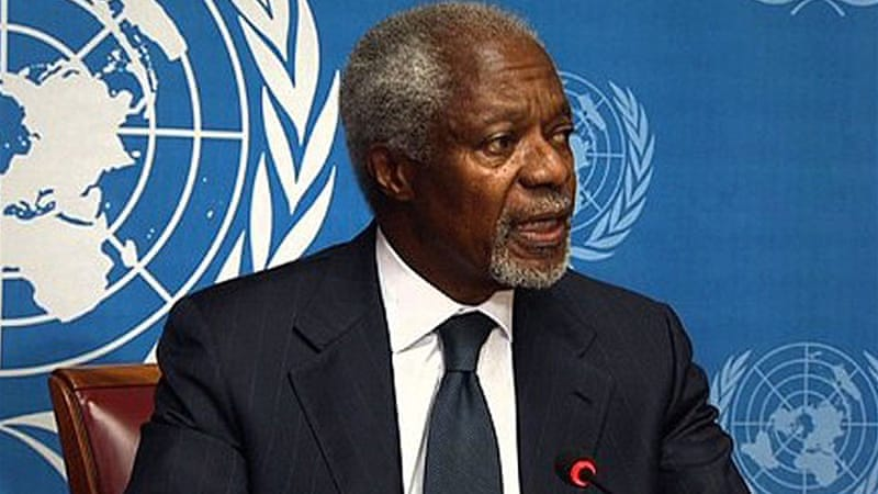 Kofi Annan, the joint UN-Arab League envoy to Syria, has resigned after his peace proposals failed [AFP]