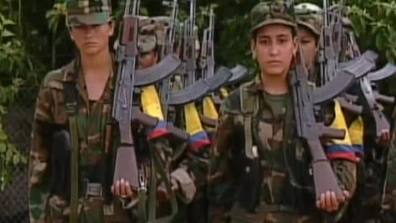 Colombian soldiers killed by FARC rebels
