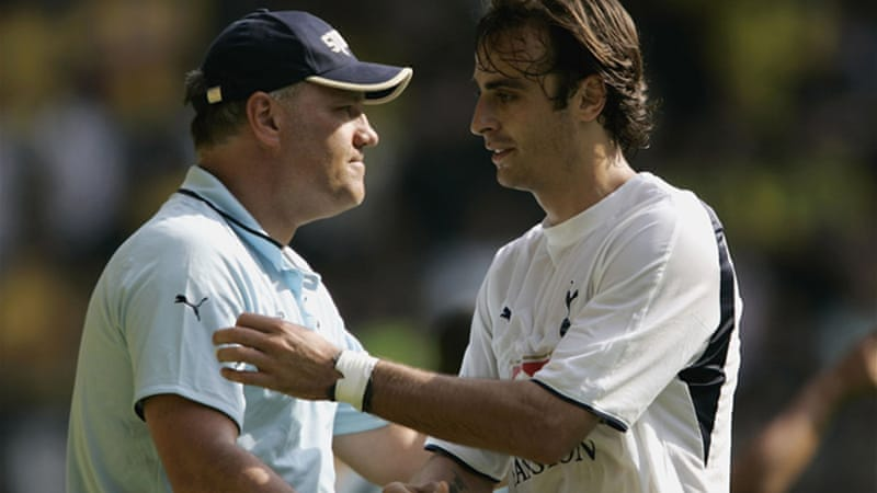 Martin Jol and Dimitar Berbatov worked together back in 2007 at Tottenham Hotspur [GALLO/GETTY]