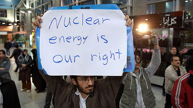 Iran has denied it is developing nuclear bomb, and has said its nuclear programme is for civilian purposes [EPA]