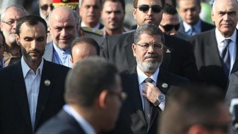 Morsi's remarks at the NAM summit on Thursday caused unease among his Iranian hosts [Reuters]