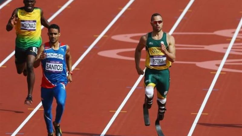 After his Olympic adventure Pistorius will take part in 100, 200 and 400m events at Paralympics [GETTY]