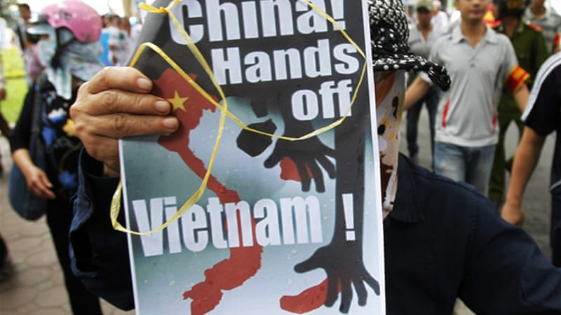 Territorial disputes between Hanoi and Beijing have led to public anger  [File photo: Reuters]