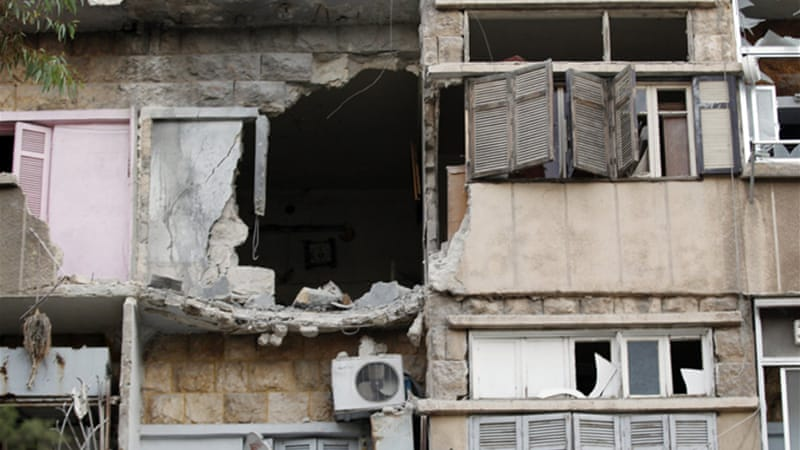 Rebel-held neighbourhoods in Aleppo have come under heavy shelling and sniper fire in recent days [Reuters]