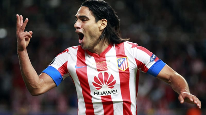 "Coach Di Matteo said Chelsea gave Atletico Madrid's thrice-scoring Falcao ""too much space and time"" [Reuters]"