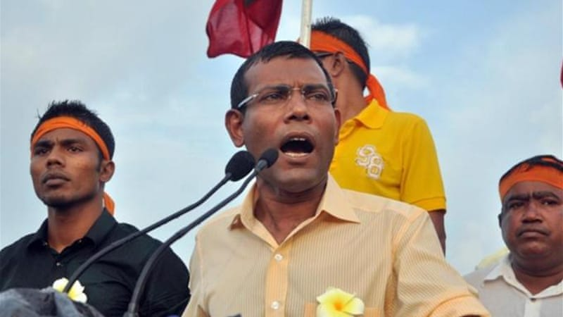 Nasheed was ousted by violent demonstrations and a mutiny by police and security forces last year [AFP]