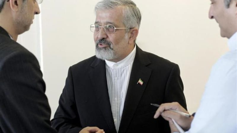 Iran's IAEA ambassador Ali Asghar Soltanieh attends a board of governors meeting in Vienna [Reuters]