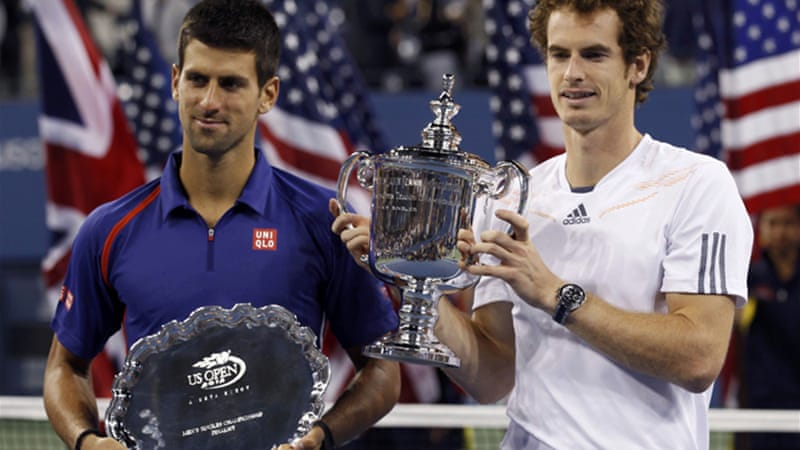 Murray downed Djokovic in a five-set epic to win his first grand slam title last year [Reuters]