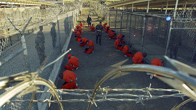 Most of the prisoners currently at Guantanamo are housed in Camp 6, a communal living facility  [Reuters]