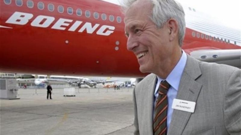 Boeing CEO Jim McNerney says his company is not threatened by the EADS-BAE merger talks [AP]