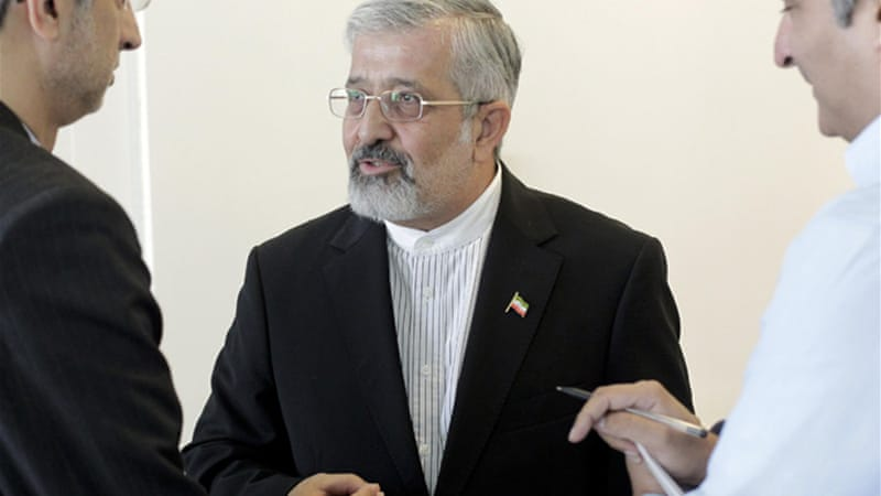 "Iran's IAEA ambassador Ali Asghar Soltanieh said that Iran considers the use of nuclear weapons a ""sin"" [Reuters]"