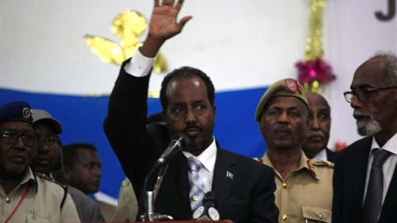 Most Somalis applaud the change of leadership and are eager for the new president to succeed [Reuters]