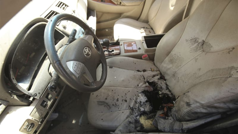 Benghazi has been hit by several bombings and attacks on international convoys in 2012 [Reuters]