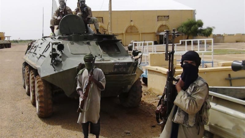 Resolution seeks a detailed plan to intervene military in Mali in a bid to oust armed groups from the north [Reuters]