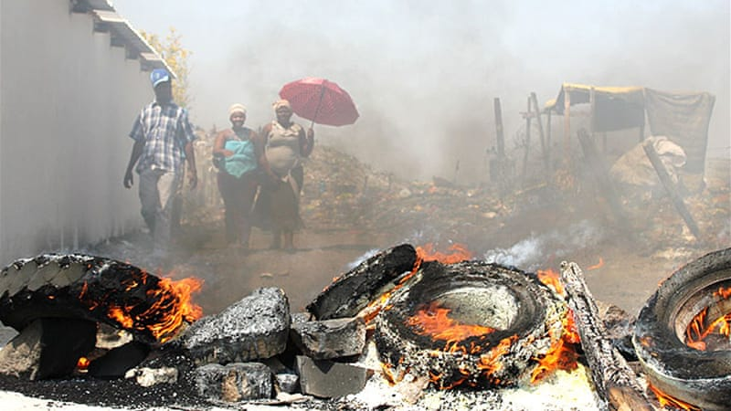 The motion was partly triggered by the Marikana massacre where 34 miners were killed by police [AFP]