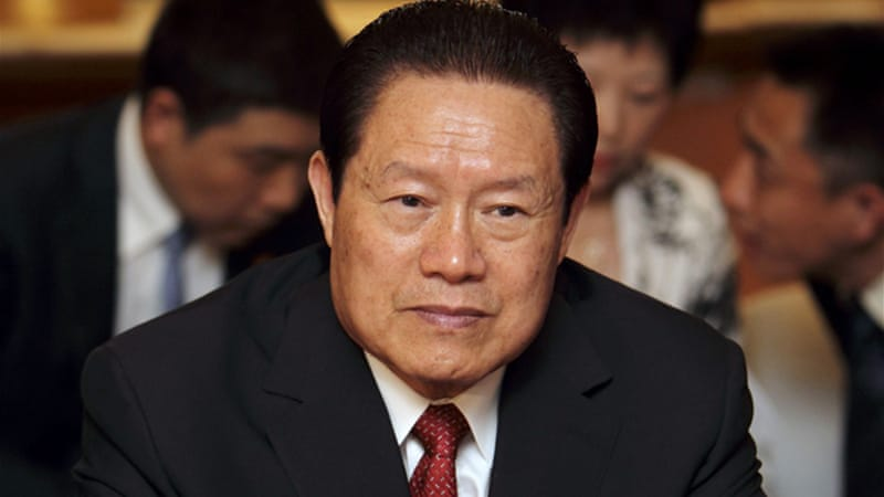 Zhou Yongkang has overseen a crackdown on separatist movements in a region that borders Afghanistan [Reuters]