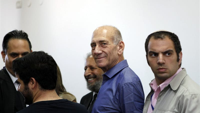 The judge said Olmert was guilty of a 'grave and absolute conflict of interest' [GALLO/GETTY]