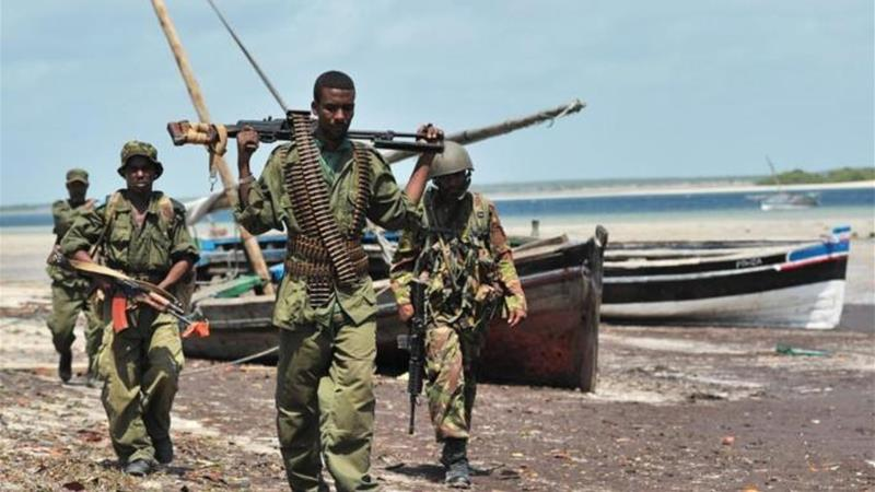Kenyan Defence Forces have been in Somalia since last October [AFP]