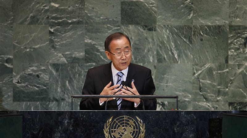 Opening the summit, UN leader described fighting in Syria as 'a regional calamity with global ramifications' [Reuters]