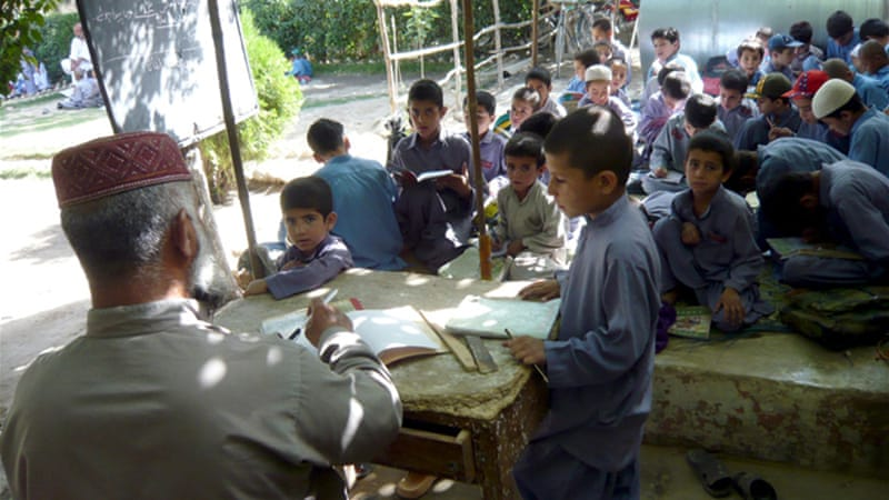 In 2007, 45 per cent suffered from extreme education poverty in the province of Balochistan, Pakistan [EPA]