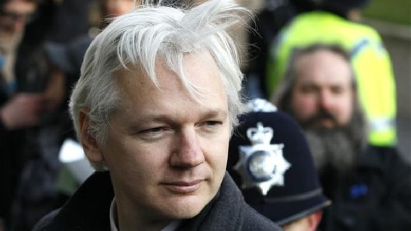 Ecuador has granted Assange political asylum [AP]
