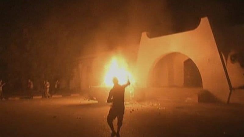 The September 11, 2012, attack on the US post in Benghazi left four Americans dead [Al Jazeera]