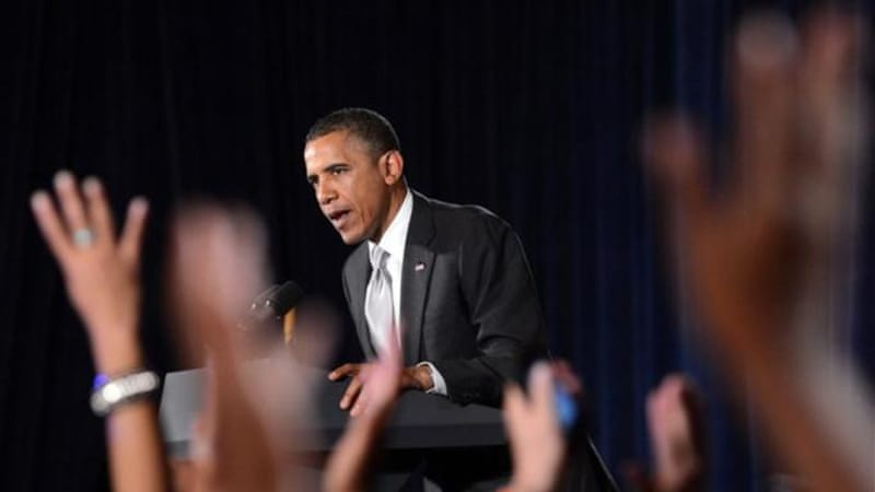 """Obama may well survive his poor debate performance to gain re-election,"" says author [AFP]"