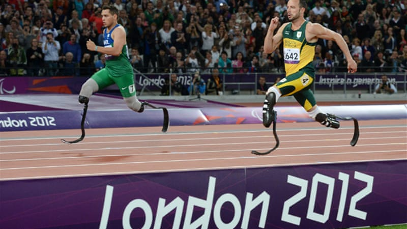 Pistorius had accused the International Paralympic Committee of failing to act over the length of his rival's blades [EPA]
