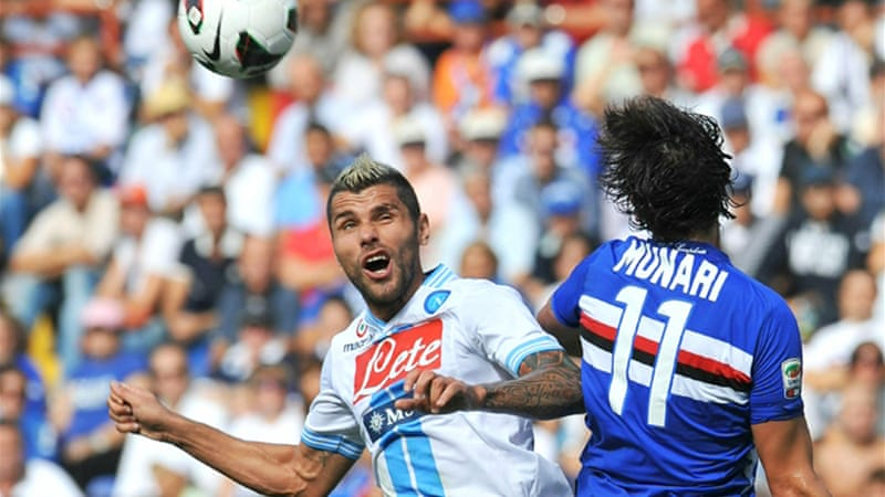 Napoli's early season title charge continues with the result keeping them close on the heels of leaders Juventus [EPA]