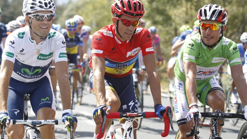 The 29-year-old Spaniard also won the Vuelta in 2008 to add to his Tour de France victories in 2007 and 2009 and a Giro triumph in 2008 [Reuters]
