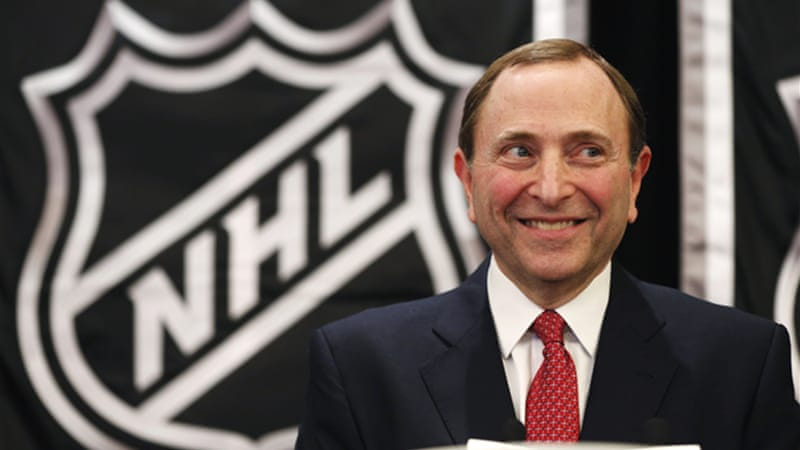 League commissioner Gary Bettman apologised for the 113-day lockout that has cost both sides billions in lost revenue [Reuters]