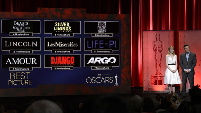 The winners of this year's Oscars will be named at a ceremony in Hollywood on February 24 [Reuters]