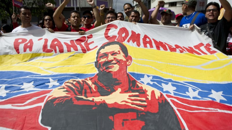 Chavez has not been seen in public since he went to Havana for the cancer surgery last December [Reuters]