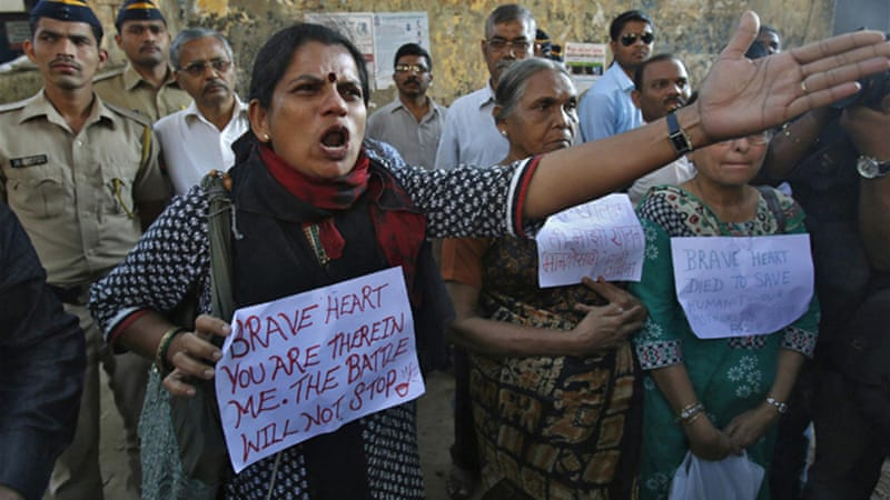 The gang-rape and subsequent death of a 23-year-old woman led to mass protests across India [Reuters]