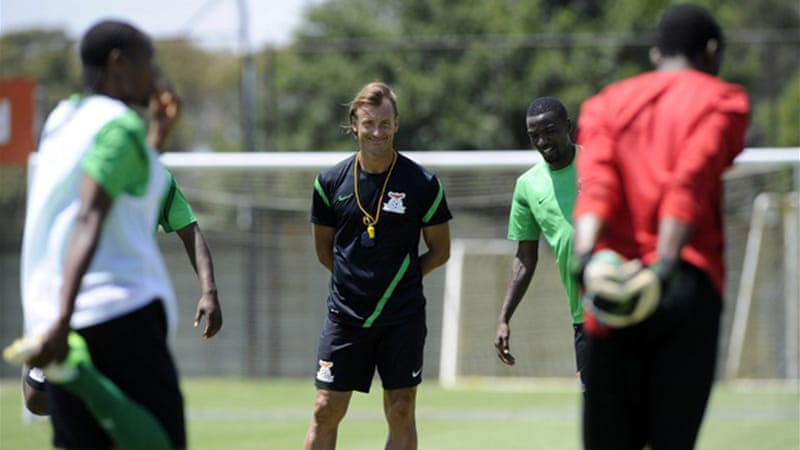 Renard guided Zambia to the 2012 Africa Cup of Nations title before losing the crown this year [AFP]