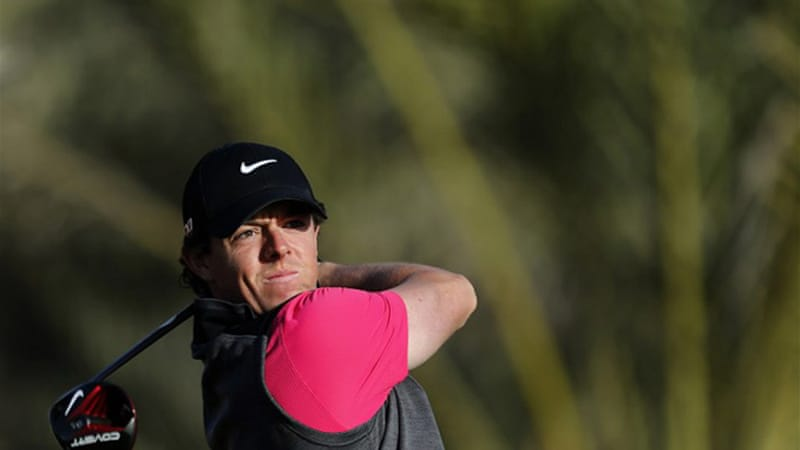 McIlroy, the new multi-million dollar Nike poster boy, finished with a 3-over 75 and risks missing the cut [AFP]
