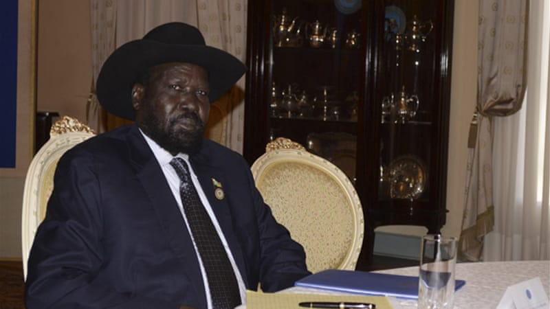 South Sudan's President Salva Kiir entered into security negotiations to allow oil exports to resume [Reuters]