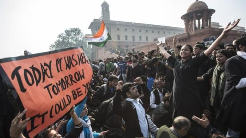 Protesters have staged almost daily rallies calling for tougher laws against rape in India [GETTY]