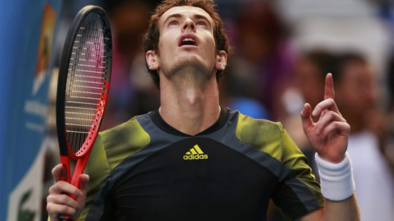 US Open champion Andy Murray has not lost a set at Melbourne Park and breezed past Gilles Simon 6-1 6-3 6-1  - he will meet another Frenchman Jeremy Chardy in the quarter-finals [Reuters]