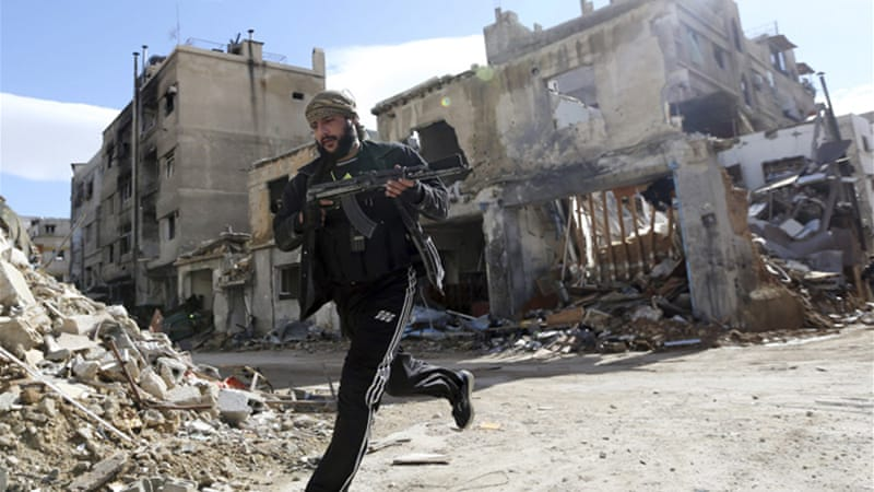 "Syria's defence minister said on Monday the army would keep chasing rebels ""until it achieves victory"" [Reuters]"