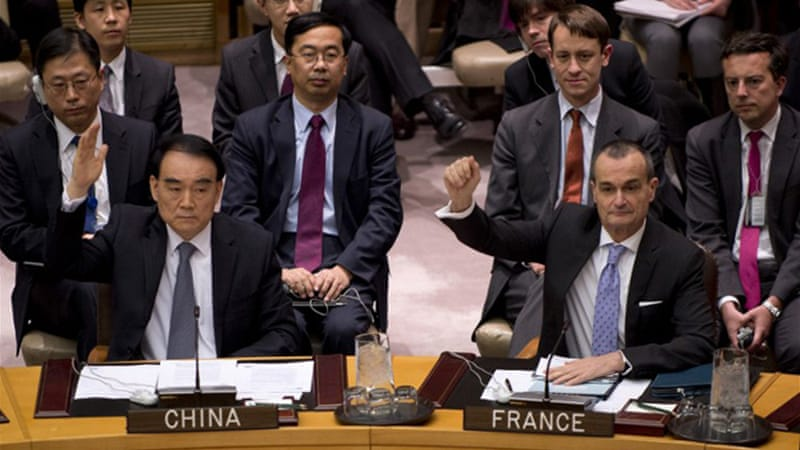The Security Council voted unanimously to condemn North Korea's December rocket launch [AFP]