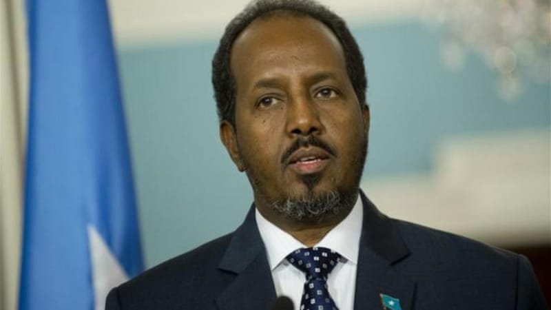 The report says a key advisor to the president was involved in planning weapons deliveries to al-Shabab [AFP]