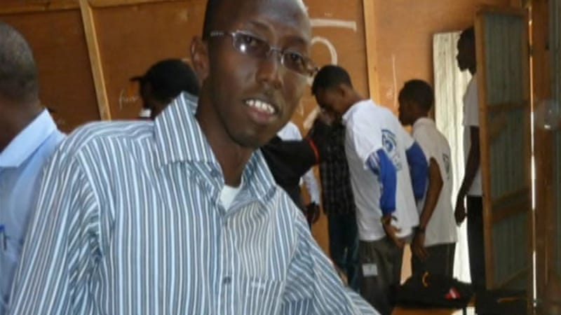 Somali freelance journalist Abdiaziz Abdinur Ibrahim has been detained since January 10