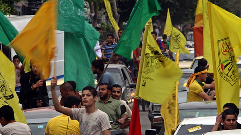 Attempts at reconciliation have placen between rival parties Hamas and Fatah in the past  [EPA]