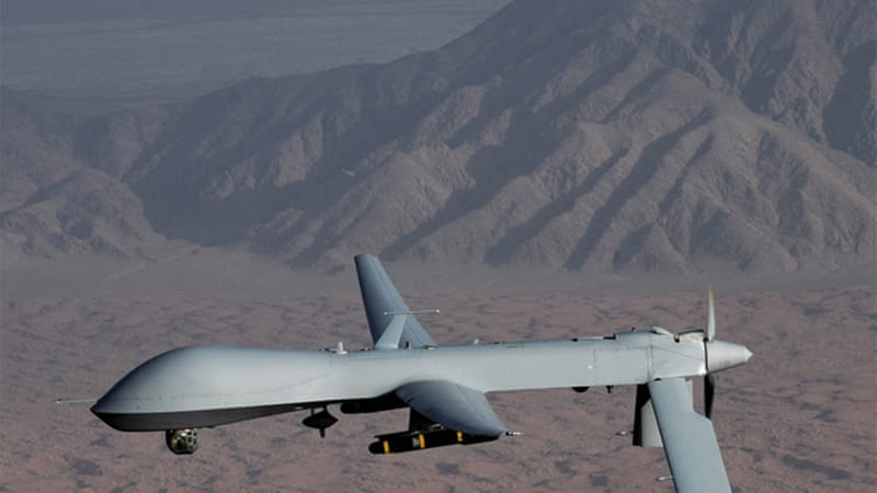 Armed US drones have been flying missions over Pakistani airspace since 2004, killing hundreds [Reuters]